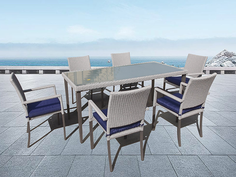 Outdoor wicker dining sets
