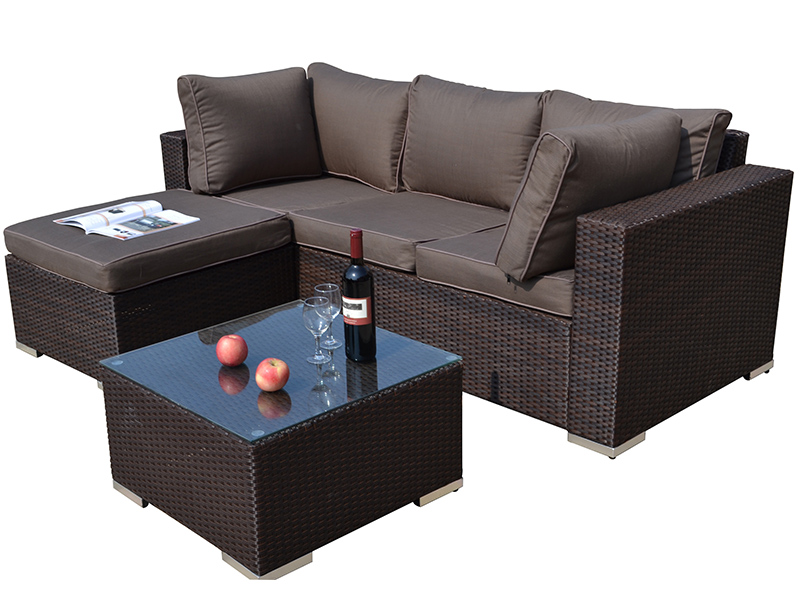 Outdoor soft sofa set furniture