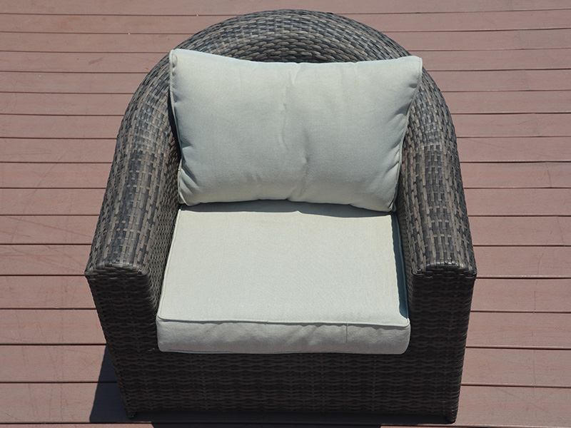 Rattan dining sofa set