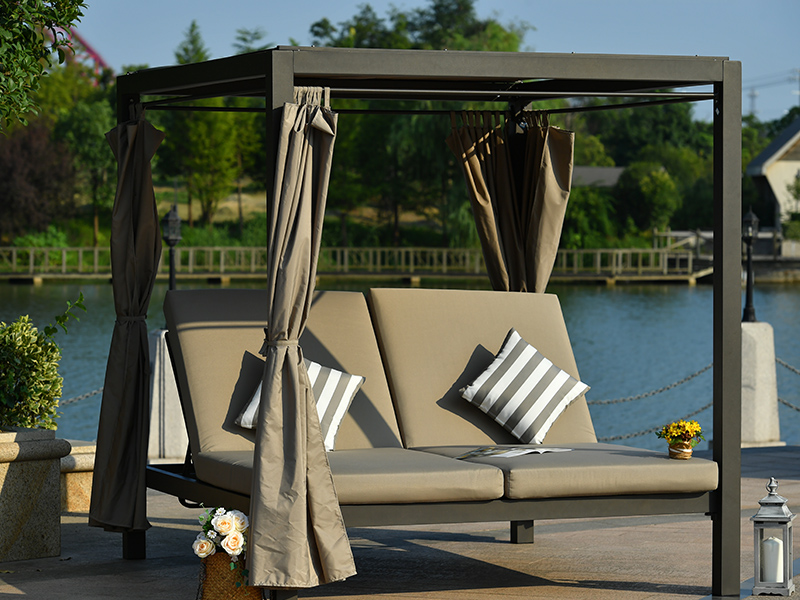 patio sun lounger for outdoor